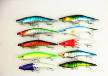 2015 fishing lure Jerkbait 3D Shrimp Hard Bait fishing tackle shrimp BASS Classic Design Prawn Shrimp Fishing Lures MI064
