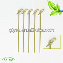 Cheap Bamboo knoted picks for wholesale
