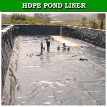 0.1mm/0.2mm/0.3mm durable woven fabric pe membrane swimming pool liner black natural pool liner