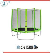 8ft green huge cheap indoor&outdoor games gymnastics trampolines