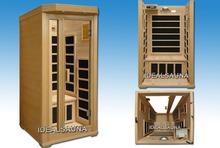 One person steam infrared sauna rooms /spa sauna rooms /detox sauna rooms
