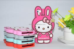 Cute Cartoon 3D Hello Kitty Soft Silicone case for Apple iPhone 5s