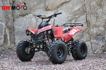 QWMOTO CE New Red Spider Plastic 125cc ATV 8 inch tyre ATV 125cc Engine quad bike 125cc Engine ATV
