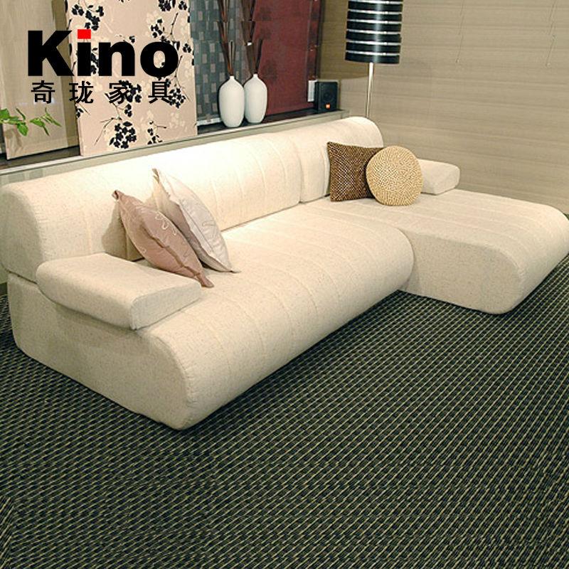 modernen stoff kleinen ecksofa f r wohnzimmer gesetzt sofa. Black Bedroom Furniture Sets. Home Design Ideas