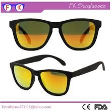 Bulk Buy From China Custom Logo Orange Revo Lens Promotion Sunglasses