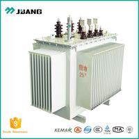high moisture resistance 3 phase oil immersed power transformer AC 11kv 415v 60Hz 1000 kva