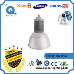 Industrial IP65 Emergency 200W 400w led high bay lighting with SMD Osram LED Chips and Meanwell driver UL listed
