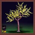 Flores artificiales con luz led cerezos en flor la luz del árbol de navidad decoración de jardín