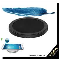 electric type and mobile phone use wireless charging with anti- slide rubber square