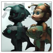 4 inch molly fish boy vinyl figure,hot make custom vinyl figures,China vinyl figures maker
