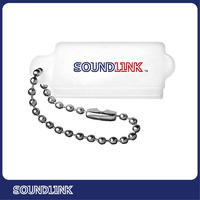 High quality Plastic white plastic hearing aid battery case