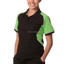 Cheap color combination design fashion sports polo t shirts