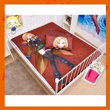 Anime Girl Photographic Print Microfiber Bed Sheet 150x200cm