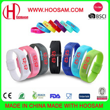 2015 NEW fashion hot sale silicone wrist watch LED wholesale