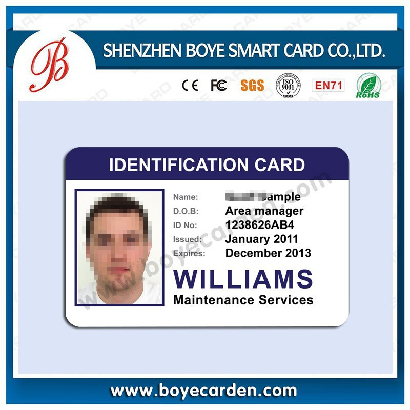 China Manufacturer Staff Id Card Design school Student Id