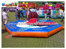 outdoor playground inflatable for rental , inflatable bull rental