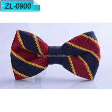 Dark red and blue Micro fiber bow tie Fashion bowtie ZL0900