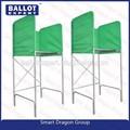Plástico corrugado votación cabina