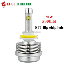 Wholesale Motorcycle Accessories H11 Led Bulb, 30W 3600LM 2S H11 Led Bulb