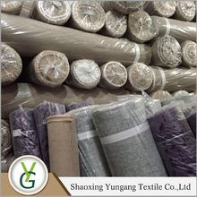 Yungang Attractive Factory Wholesale microfiber polyester fabric, backing sofa fabric