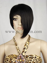 Customized100% Synthetic Kanekalon Fiber Bob Unbalance Wig