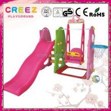 Alibaba china export children plastic playhouse and slide