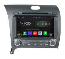 OEM China Manufacturer Car audio stereo system/in car radio/dvd/gps navigation with android 4.4 OS for CERATO/K3