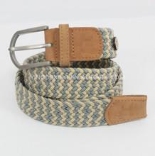 canvas elastic rubber webbing woven belt