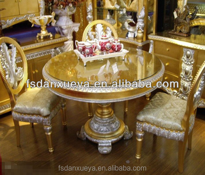 Turkish Furniture Dining Room Gold Table Buy Turkish