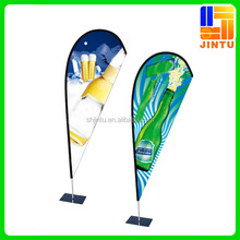 China Promotion Flying Style Teardrop Flags for sale