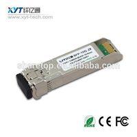 10G SFP DWDM fiber optic transceiver for 40KM