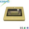 fábrica de venta directa de la pequeña lámpara decorativa moderna de oro del sensor de movimiento de la luz