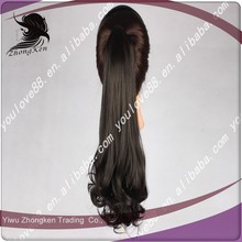 Best selling products ponytail hairpieces hair piece synthetic ponytail hair extension,straight long ponytails for women