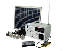 DC Silicon PV Solar Power System with Generator