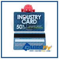 Customize PVC plastic club membership loyalty card/club VIP card with signature