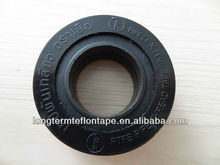 12mm width ptfe adhesive tape high density black ptfe tape/PROFESSIONAL ptfe thread seal tape for water sealant