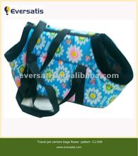 2012 warm soft fabric pattern small dog bag