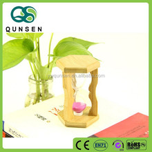 promotional wooden reverse flowing hourglass sand timer