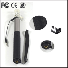 with foam grip low price selfie monopod with focus