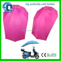 Innovative top sell useful special motorcycle umbrella