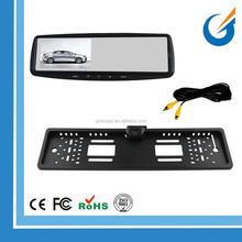 "4.3"" Monitor EU License Plate Camera for Car Parking Reversing Assist"
