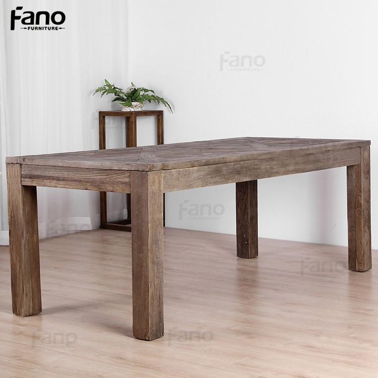 Meubles en bois r cup r antique table en bois rustique - Table en bois rustique ...
