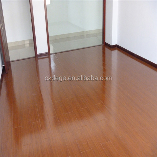 High Gloss Grey Engineered Wood Floors Wood Look Rubber Flooring
