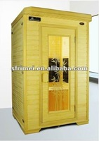 Indoor Portable Wooden House 2 Person Steam Sauna Room K-48