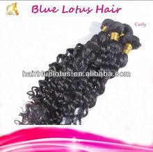 Never Miss it ! Raw 100% Brazlian curly remy Virgin Hair