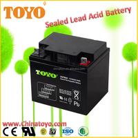 emergency light energy deep cycle battery 12v40ah lead acid battery