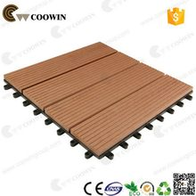 New style hot selling recycled composite tiles diy wpc floor