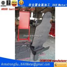 XAX24TAR OEM ODM customized silhouette reactive reset pistol AR500 tactical steel target