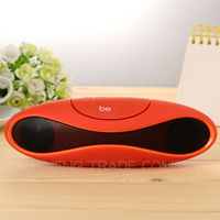 High quality Portable Best Wireless Bluetooth Speaker with mic & double subwoofer loudspeakers music speakers sound box boombox