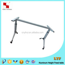 Aluminum Y shape office table leg/ Office table design photos specifications 2 person computer desk